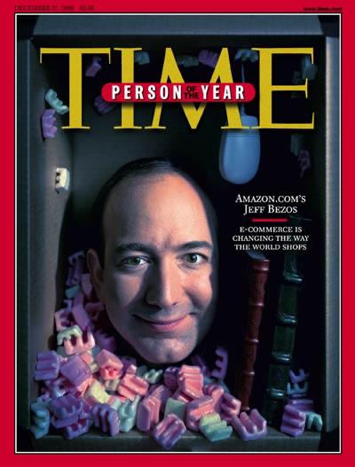 Amazon Jeff Bezos Time Dergisi